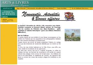 2013 8 LIBRAIRIE ARTS ET LIVRES DEDICACES
