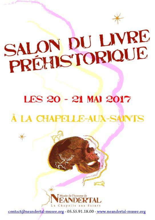 2017 salon du livre pr historique la chapelle aux saints for Salon du livre montreuil 2017
